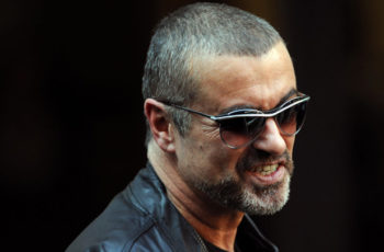 george michael with sunglases