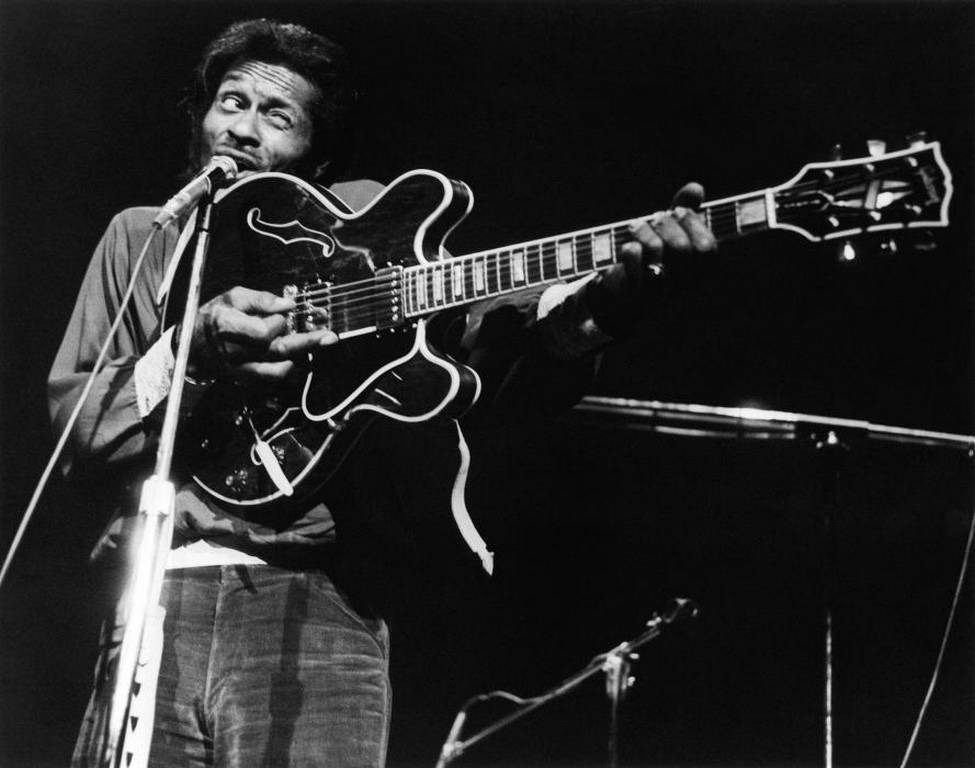 Chuck Berry, Duck Walk, Young, Guitar