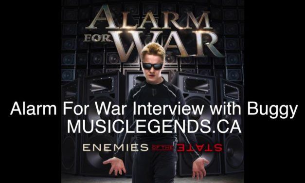 Alarm For War:  Buggy Interview 2017