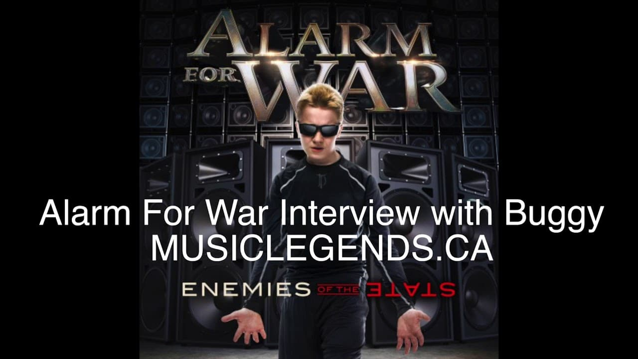 Interview with ALARM FOR WAR's Buggy, November 2017