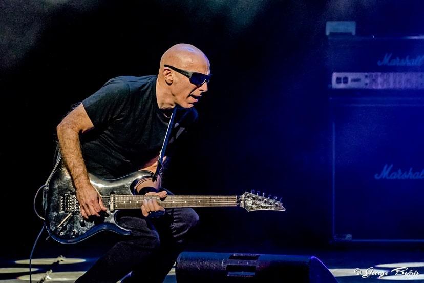 Joe Satriani G3 Tour Oakdale Theater February 8, 2018