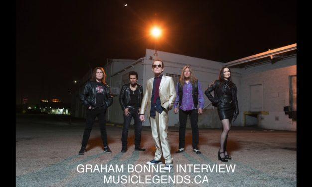 Graham Bonnet Interview 2018